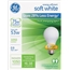 GE Halogen A-Line Bulb, A19, 53 Watt, 890 lm, Soft White, 2/PK Thumbnail 1