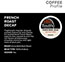 Tully's Coffee® French Roast Decaf Coffee K-Cup® Pods, 24/BX Thumbnail 3