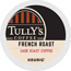 Tully's Coffee® French Roast Coffee K-Cup® Pods, 24/BX, 4 BX/CT Thumbnail 1