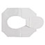 Georgia Pacific® Professional Half-Fold Toilet Seat Covers, White, 250/Pack, 20 Packs/CT Thumbnail 2