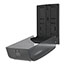 Georgia Pacific® Professional Combination C-Fold/Multifold Towel Dispenser, 11w x 5 1/4d x 15 2/5h, Translucent Smoke Thumbnail 2