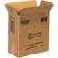 """W.B. Mason Co. Plastic Jug Haz Mat boxes, 2 - 1 Gallon, 12"""" x 6"""" x 12 3/4"""", Kraft, 20/BD Thumbnail 1"""