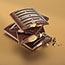 Hershey's® King Size Candy Bar, Milk Chocolate with Almonds, 2.6 oz., 18/BX Thumbnail 2