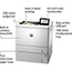 HP Color LaserJet Enterprise M553X Laser Printer Thumbnail 4