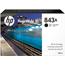 HP 843A 400-ml Black PageWide XL Ink Cartridge Thumbnail 1