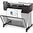 HP DesignJet T830 24-in Multifunction Printer, Copy/Print/Scan Thumbnail 1