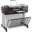 HP DesignJet T830 24-in Multifunction Printer, Copy/Print/Scan Thumbnail 3