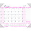 """House of Doolittle™ Recycled Breast Cancer Awareness Monthly Desk Pad Calendar, 18 1/2"""" x 13"""", 2021 Thumbnail 1"""