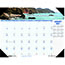"""House of Doolittle™ Recycled Coastlines Photographic Monthly Desk Pad Calendar, 18 1/2"""" x 13"""", 2021 Thumbnail 1"""