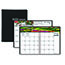 """House of Doolittle™ Recycled Gardens of the World Weekly/Monthly Planner, 7"""" x 10"""", Black, 2021 Thumbnail 1"""