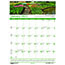 """House of Doolittle™ Recycled Gardens of the World Monthly Wall Calendar, 15 1/2"""" x 22"""", 2021 Thumbnail 1"""