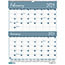 """House of Doolittle™ Recycled Two-Months-per-Page Wirebound Wall Calendar, 20"""" x 26"""", 2021 Thumbnail 1"""