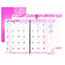 """House of Doolittle™ Recycled Breast Cancer Awareness Monthly Planner/Journal, 7"""" x 10"""", Pink, 2021 Thumbnail 1"""