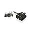 Iogear  2-Port USB DVI Cable KVM Switch - 2 Computer(s) - 1 Local User(s) - 1920 x 1200 - 1 x USB - 1 x DVI Thumbnail 3