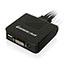 Iogear  2-Port USB DVI Cable KVM Switch - 2 Computer(s) - 1 Local User(s) - 1920 x 1200 - 1 x USB - 1 x DVI Thumbnail 2