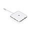 Iogear Compact USB-C Docking Station with PD Pass-Thru, Wired Thumbnail 3