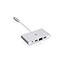 Iogear 4-in-1 4K Multiport Adapter USB-C, 3 x USB Ports, 1 x USB 3.0, Network (RJ-45) Thumbnail 3