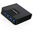 Iogear  4x4 USB 3.0 Peripheral Sharing Switch - USB - External - 4 USB Port(s) - 4 USB 3.0 Port(s) - PC, Mac, Linux Thumbnail 2