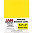 "JAM Paper® Printable Business Cards, 3 1/2"" x 2"", Brite Hue Yellow, 100/PK Thumbnail 1"