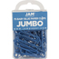 JAM Paper Paperclips, Jumbo Size, Baby Blue, 75/Pack Thumbnail 1