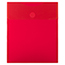 """JAM Paper Plastic Expansion Envelopes with Hook & Loop Closure, Letter Open-End, 9 3/4"""" x 11 1/2"""", Red, 12/PK Thumbnail 1"""