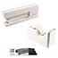 JAM Paper® Office & Desk Sets, White and Black, 3/PK Thumbnail 1