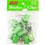 JAM Paper Binder Clips, Medium 32mm, Green, 15/Pack Thumbnail 1