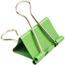 JAM Paper Binder Clips, Medium 32mm, Green, 15/Pack Thumbnail 2