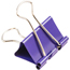 JAM Paper® Binder Clips, Medium 32mm, Purple, 15/Pack Thumbnail 2