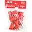 JAM Paper® Binder Clips, Medium 32mm, Red, 15/Pack Thumbnail 1
