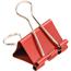 JAM Paper® Binder Clips, Medium 32mm, Red, 15/Pack Thumbnail 2