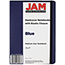 """JAM Paper Hardcover Notebook with Elastic Band, 5"""" x 7"""", Blue, 100 Lined Sheets Thumbnail 2"""