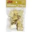 JAM Paper Binder Clips, Large 41mm, Gold, 12/Pack Thumbnail 1