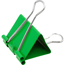 JAM Paper® Binder Clips, Large 41mm, Green, 12/Pack Thumbnail 2