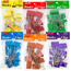 JAM Paper Binder Clips, Large 41mm, Assorted, 6 Packs, 12/Pack Thumbnail 2