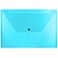 "JAM Paper® Plastic Envelopes with Snap Closure, Legal Booklet, 9 3/4"" x 14 1/2"", Blue, 12/PK Thumbnail 1"