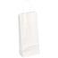 "JAM Paper® Wine Shopping Bags, 5 1/2"" x 3 1/4"" x 13"", White Kraft, 250/PK Thumbnail 1"