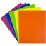 JAM Paper® Plastic 2 Pocket School POP Presentation Folders, Assorted Primary Colors, 6/PK Thumbnail 3
