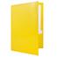 JAM Paper Laminated Two-Pocket Glossy 3 Hole Punch Folders, Yellow, 25/PK Thumbnail 3