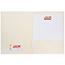 JAM Paper Two-Pocket Textured Linen Business Folders, Ivory, 25/PK Thumbnail 3