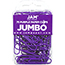 "JAM Paper Colorful Jumbo Paperclips, 2"", Purple Paperclips, 2/PK Thumbnail 1"