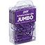 "JAM Paper Colorful Jumbo Paperclips, 2"", Purple Paperclips, 2/PK Thumbnail 2"