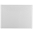 "JAM Paper® Plastic Envelopes with Tuck Flap Closure, Letter Booklet, 8 7/8"" x 12"", Clear, 12/PK Thumbnail 1"