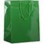 "JAM Paper® Glossy Gift Bags, 10"" x 5"" x 13"", Green, 6/PK Thumbnail 1"