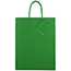 "JAM Paper® Glossy Gift Bags, 10"" x 5"" x 13"", Green, 6/PK Thumbnail 2"