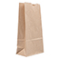 "JAM Paper® Kraft Lunch Bags, 4 1/8"" 2 1/4"" x 8"", Brown Recycled, 500/BX Thumbnail 1"
