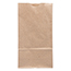 "JAM Paper® Kraft Lunch Bags, 4 1/8"" 2 1/4"" x 8"", Brown Recycled, 500/BX Thumbnail 2"