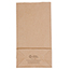 "JAM Paper® Kraft Lunch Bags, 4 1/8"" 2 1/4"" x 8"", Brown Recycled, 500/BX Thumbnail 3"