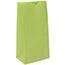 "JAM Paper® Kraft Lunch Bags, 4 1/8"" 2 1/4"" x 8"", Lime Green, 500/BX Thumbnail 2"