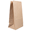 "JAM Paper® Kraft Lunch Bags, 6"" x 3 3/4"" x 11"", Brown Recycled, 25/PK Thumbnail 1"